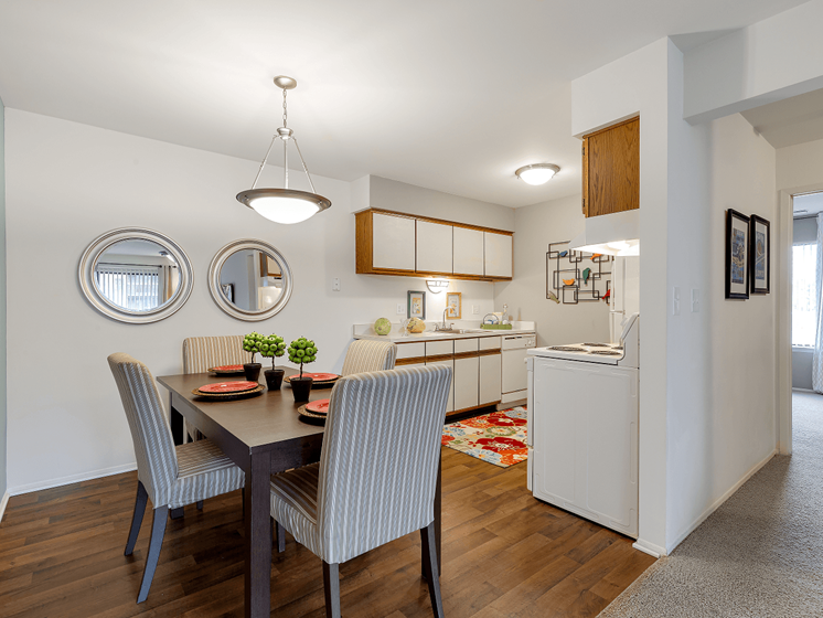 Dining Room at Eastwood Village Apartments, Clinton Township, MI