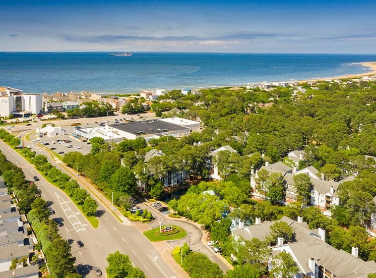 Marina Shores Apartments near the Chesapeake Bay