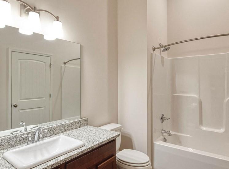 Bath at Logans Landing apartments in Lynchburg VA