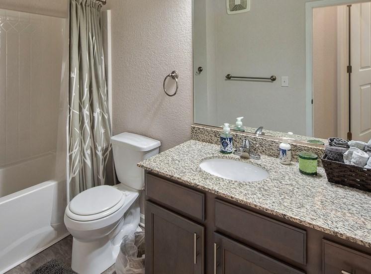 Bathroom at Luxury Apartments in Virginia Beach