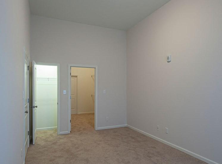 bedroom at Logans Landing apartments in Lynchburg VA