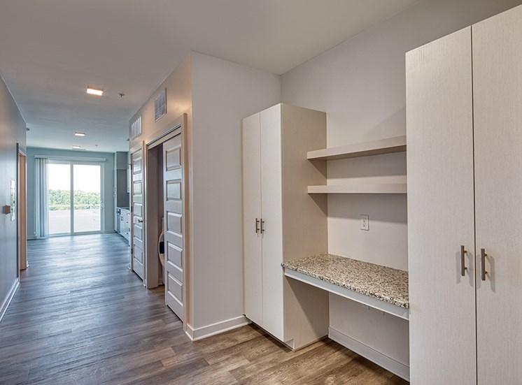 Desk at Helix Apartments in Summit Pointe Chesapeake VA