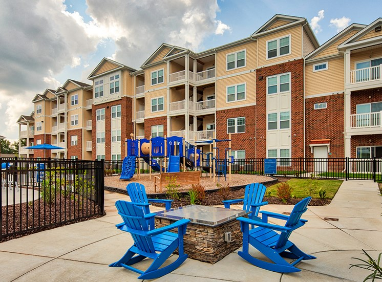 Fire pit at The Choices at Holland Windsor Apartments