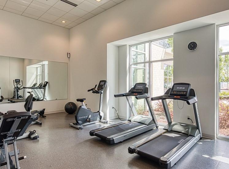 Helix Apartments Fitness Center in Chesapeake VA