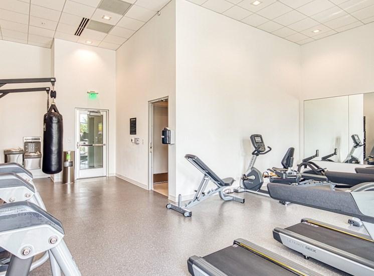 Helix Apartments Fitness Center 2 in Chesapeake VA