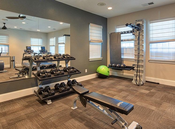 Fitness Center at The Choices Apartments