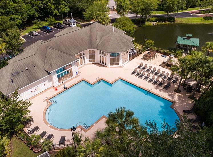 Pool at Heron Reserve Apartments