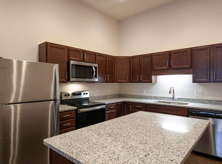 Logans Landing Apartments in Lynchburg VA Kitchen 2