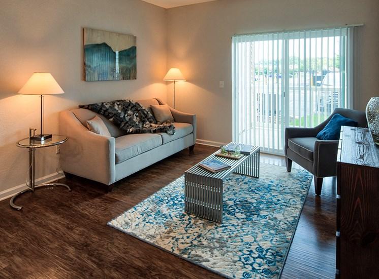 Living Room at Luxury Apartments in Virginia Beach