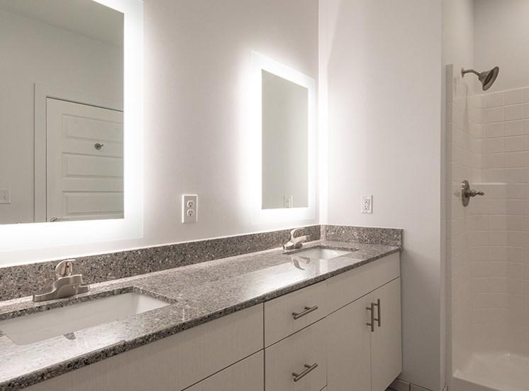 Bathroom at Helix Apartments
