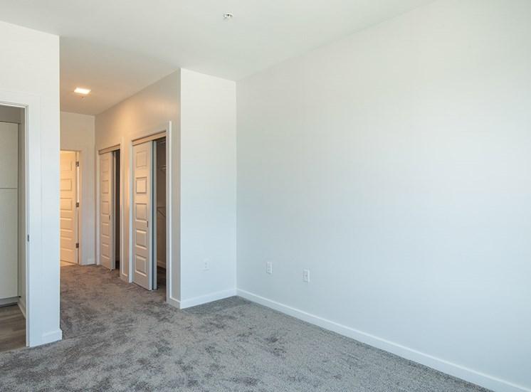 bedroom at Helix Apartments
