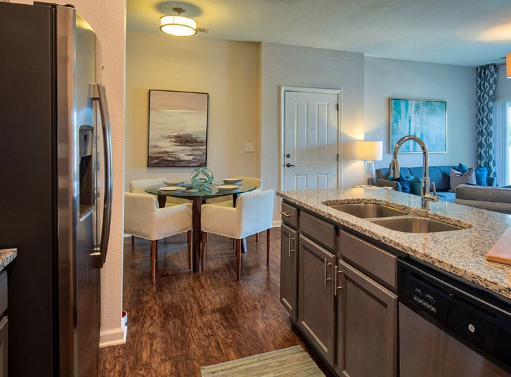 Gourmet Kitchen at The Choices Apartments