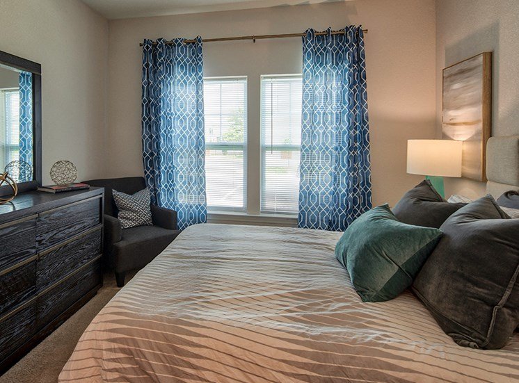 Bedroom at The Choices Luxury Apartments