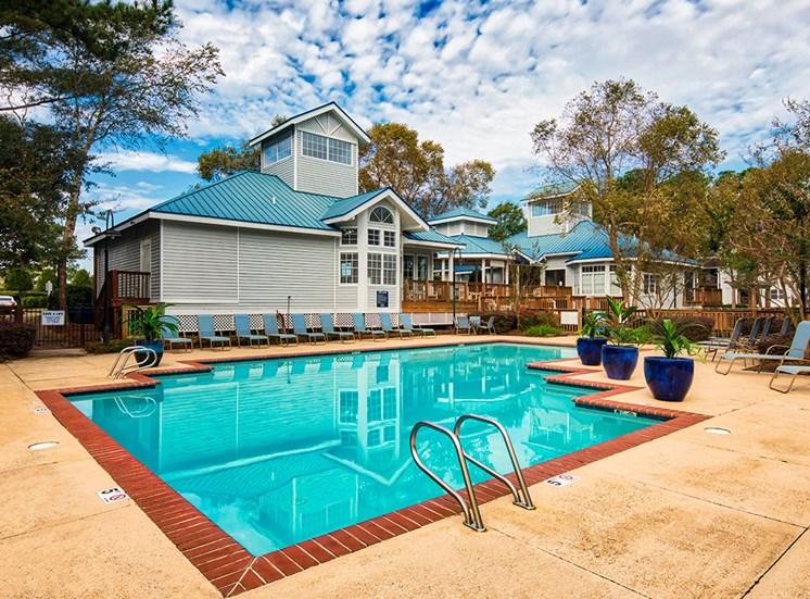Pool at Marina Shores Apartments