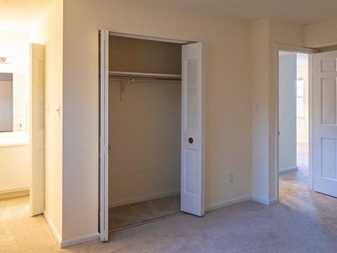 Closet at Old Donation Apartments