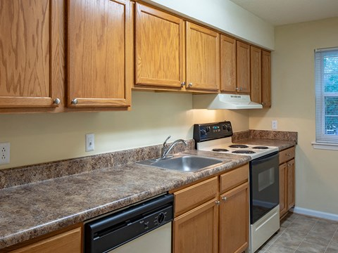Kitchen at Old Donation Apartments