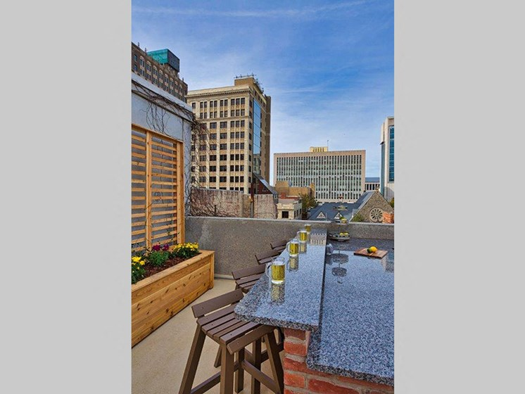 The Carling Apartments | Jacksonville, FL | Rooftop Lounge