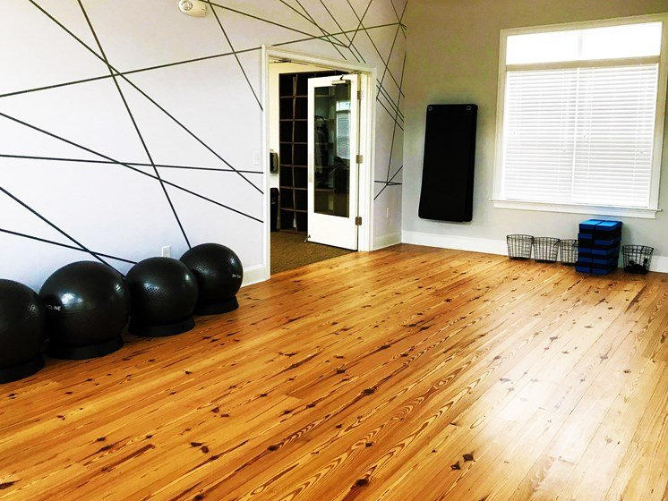 On Site Yoga Studio at The Indigo at Cross Creek