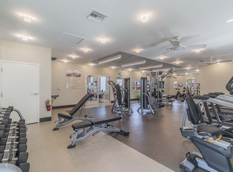 State Of The Art Fitness Center at The Boot Ranch Apartments, Palm Harbor, FL, 34685