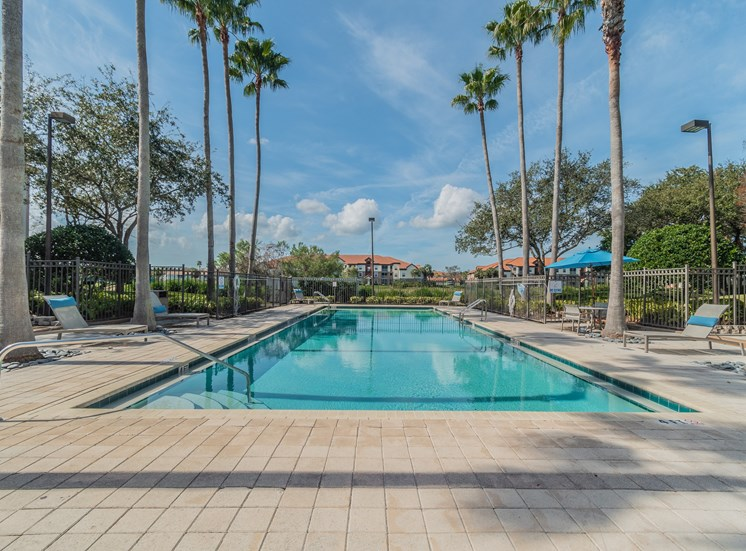 Resort Inspired Pool with Sundeck at The Boot Ranch Apartments, Florida, 34685