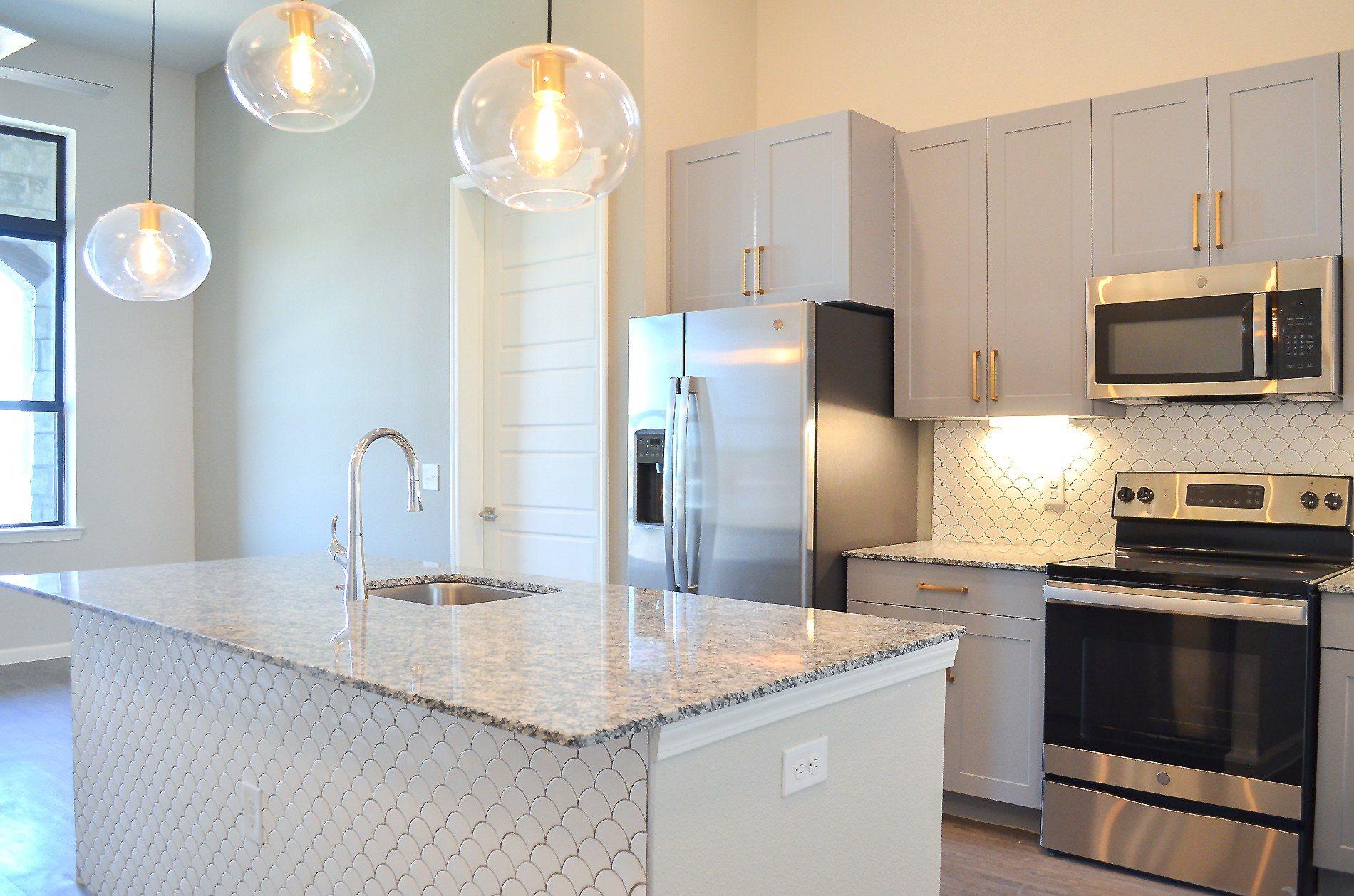 Kitchen  | Cavalli at Iron Horse Station | Apartment in North Richland Hills, TX