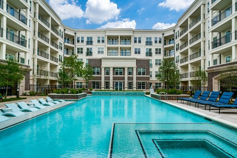 Pool View at Epoch on Eagle in Denton, Texas, TX