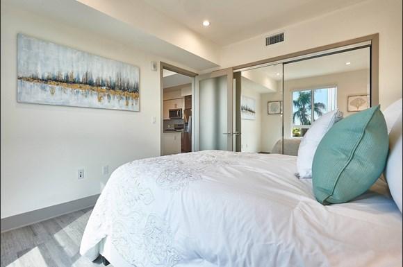 Bedroom at 4847 Oakwood Ave. Los Angeles, CA