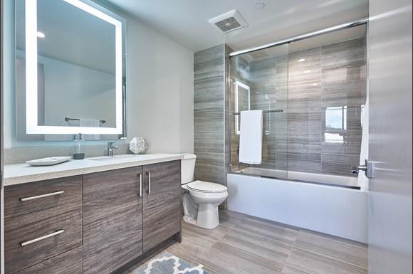 Modern Bathroom at 4847 Oakwood Ave. Los Angeles, CA