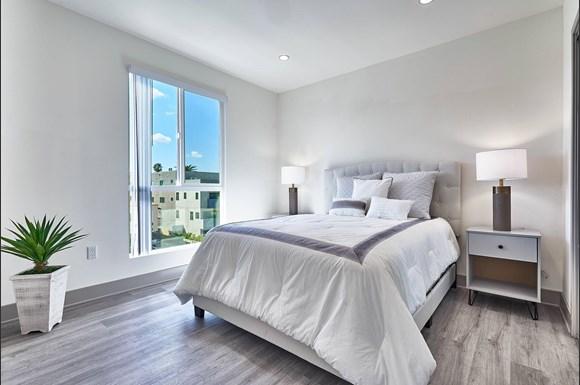 Master Bedroom at 4847 Oakwood Ave. Los Angeles, CA