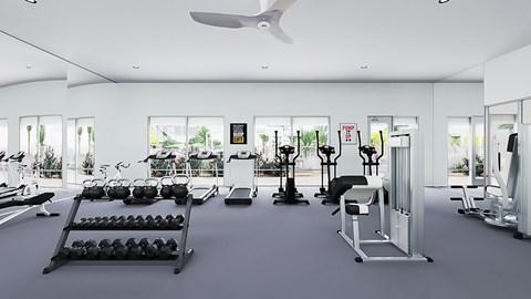 Fitness Rendering