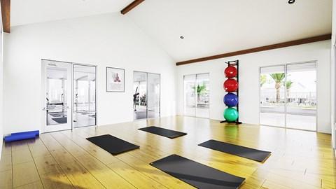 Yoga Room Rendering