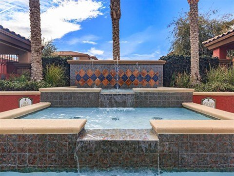 Montecito Pointe Hot Tub And Pool in Nevada Apartment Homes for Rent