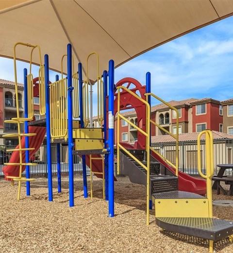 Montecito Pointe On-Site Tot Lot in Las Vegas, NV Apartment Homes