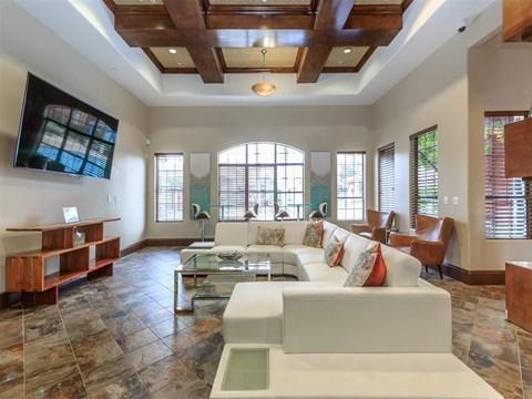 Large Montecito Pointe Community Clubhouse in Las Vegas Apartment Rentals