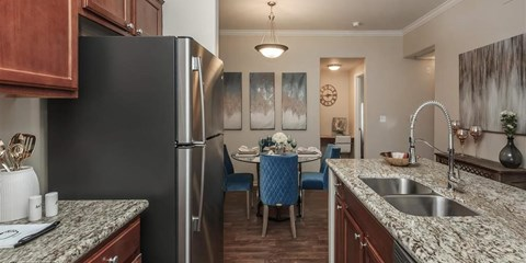 Fitted Montecito Pointe Kitchen in Las Vegas, NV Apartment Rentals for Rent