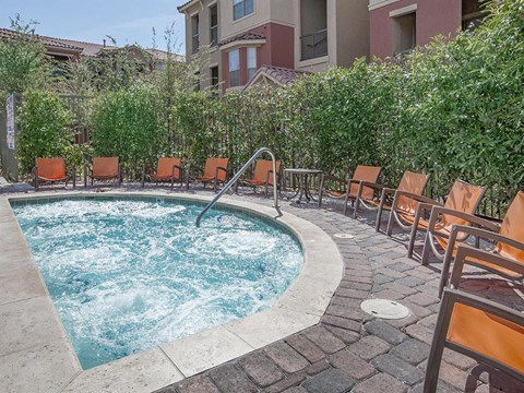 Sonata Hot Tub and Spa for Residents in Nevada Apartment Homes
