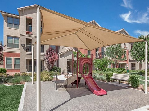 Sonata Tot Lot And Playing Field in North Las Vegas, Nevada Apartment Rentals for Rent