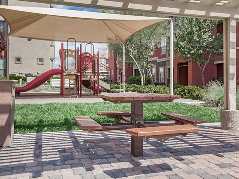 Fun Stop Sonata Tot Lot in Nevada Apartment Homes for Rent