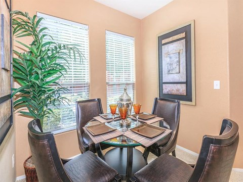 Sonata Dining And Wining Area in Nevada Apartment Homes