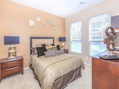 Stylish Looking Sonata Bedroom in North Las Vegas, Nevada Apartments