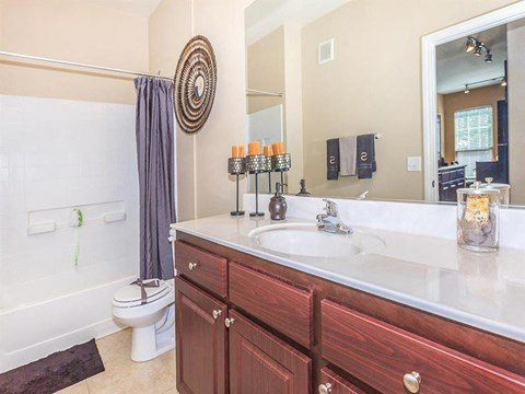 Modern Sonata Bathroom Fittings in Nevada Apartment Homes