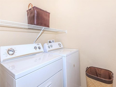 Stacked Sonata Washer/Dryer in Nevada Apartment Rentals for Rent