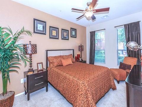 Gorgeous Bedroom Designs at Sonata Rental Homes in North Las Vegas