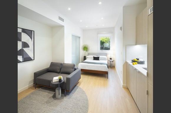 Westchester Apartments Arrival Unit 1062 Bedroom