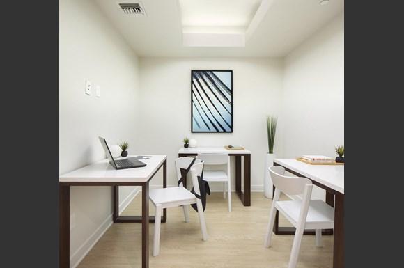 Furnished Westwood Apartments mysuite at Wilshire Margot Co Living Suites Den