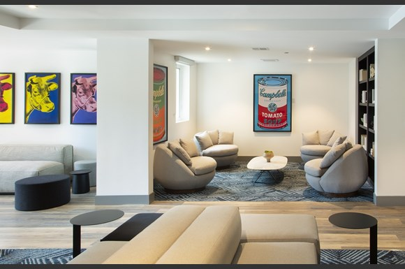 Westchester Apartments Ascent Shared Lounge Area