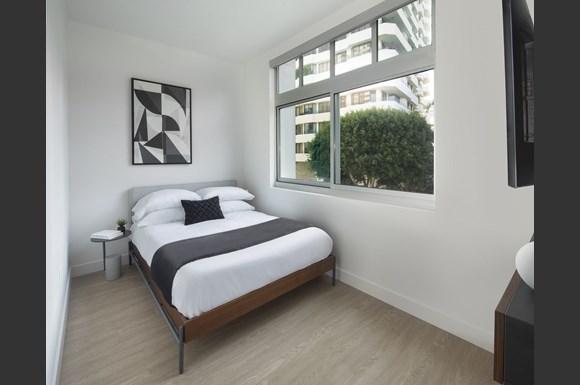 mysuite wilshire margot westwood furnished apartment bedroom
