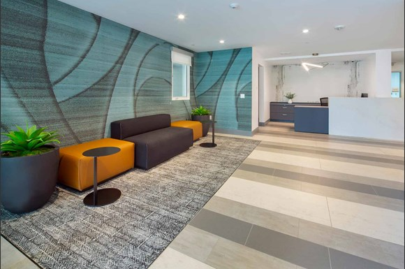 Westchester Apartments Ascent Reception Lobby