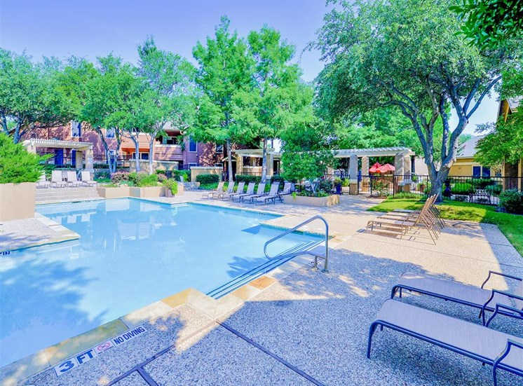 1 of 3 Pools with Cabanas at The Winsted at Valley Ranch in Irving, TX, For Rent. Now leasing 1 and 2 bedroom apartments.