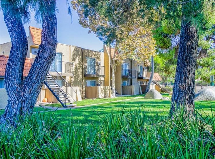 Pet friendly at Woodlake Apartments in Escondido, CA, For Rent. Now leasing Studio, 1 and 2 bedroom apartments.